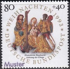 Specimen, Germany ScB756 Christmas, Adoraration of Magi