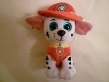TY MARSHALL DOG PAW PATROL OFFICIAL BRAND NEW BEANIE BOOS PLUSH SOFT TOY NICK JR