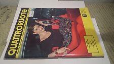 QUATTRORUOTE NOVEMBRE  1957   N. 12    A8