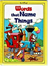Children's Book ~ Walt Disney WORDS THAT NAME THINGS ~ w/ Games & Puzzles