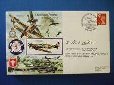 1990 battaglia della Gran Bretagna GRANDE ATTACCO COPERTINA FIRMATA AIR vice MARESCIALLO Uccello Wilson
