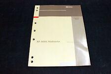 HP 3458A CALIBRATION MANUAL