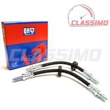 Rear Brake Flexi Hose Pair - FORD ESCORT Mk 3 & 4 - all models incl XR3i - 82-90