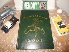 ORIGINAL 2001 MONTEREY HIGH SCHOOL YEARBOOK/ANNUAL/JOURNAL/MONTEREY, CALIFORNIA