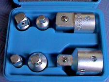 """6 x Stecknuss Adapter Adaptersatz Set CrV 1/4"""" / 3/8"""" / 1/2"""" / 3/4"""" Satz Nüsse +"""
