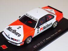 1/43 Spark BMW 635 CSi Car #2 2nd 1983  Macau guia Race  SA053 Marlboro