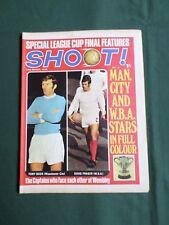 SHOOT - MAGAZINE- 14 MAR 1970 - TONY BROOKE - MANCHESTER CITY / WEST BROMWICH