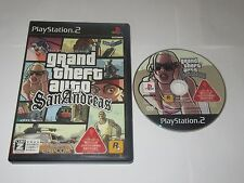 Grand Theft Auto: San Andreas - PlayStation 2 PS2 Japan Import