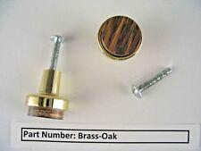 "Jaybee Brass Oak 15/16"" Round Cabinet Knob 5579-K3-01 #73s"