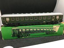 MARKLIN HO train électrique voiture voyageurs grandes lignes metal en boite