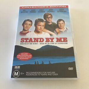 Stand by me DVD Wil Wheaton River Phoenix Corey Feldman Jerry O'Connell