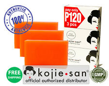 Kojiesan Skin Lightening Soap 100-Gram, 3 Pack - Official US Distributor - 100g