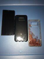 Lot Of 3pc Samsung Galaxy S8 plus Tech21,original Flip, Rebeccaminkoff Cases