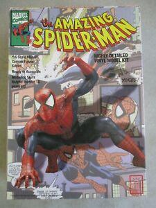 VINTAGE 1994 AMAZING SPIDER-MAN 1/6 SCALE HORIZON VINYL MODEL KIT IN BOX