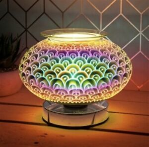 Round Orb Desire Aroma Touch Lamp Wax Fragrance Burner Electric Lamp FREE MELT