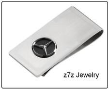 MERCEDES BENZ Money Clip  - silver logo emblem famous german car auto z7qq