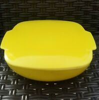 Vintage Yellow Pyrex Casserole Dish with Lid