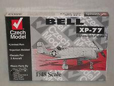 Czech Model 1/48 Scale Bell XP-77 Lightweight  Fighter  -  Factory Sealed