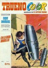 TRUENO COLOR COMPLETA EDITORIAL BRUGUERA DESDE 1969 A 1975