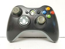 Official OEM Microsoft Xbox 360 Black/Grey Wireless Genuine  Game Controller