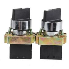 2X 10A 2 Position NO Maintained 4 Terminal Rotary Selector Switch XB2-BD21C
