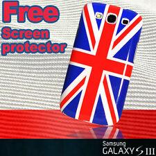 British UK English Flag Hard Case + Sp for Samsung Galaxy s3 i9300 Stylish cover