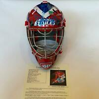 2009 All Star Game Signed Goalie Mask 36 Sigs Ovechkin Malkin Lundqvist JSA COA
