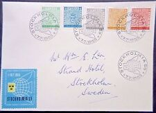 Sweden 1955 Stockholmia First Day Cover.