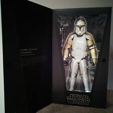 RAH Medicom Star Wars 1/6 Clone Trooper Commander (AOTC version)  (MIB)