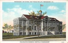 Illinois postcard Mooseheart, Loyal Order of Moose School Memorial Hospital