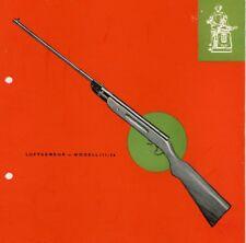Suhl 1959c VEB Ernst Thalmann Werk Luftgewehr Modell III-56 Flyer
