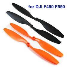 """2 Pairs 10x4.5"""" 1045 Nylon CW CCW Propeller Prop Multicopter QuadCopter 2 Colors"""