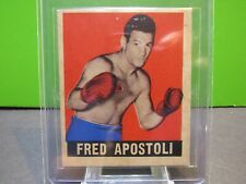 1948 KNOCK - OUT CARD FRED APOSTOLI