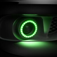 For Ford Mustang GT500 2013-2014  LED Waterproof Fog Halo Kit Oracle