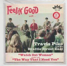 (IV487) Travis Pike & The Brattle Street East, Watch Out Woman - 2017 DJ CD