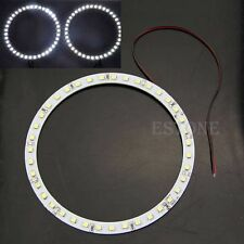 2pcs 120mm 39LED 1210/3528 Car Angel Eyes Halo Ring Light Headlight White Light