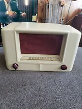New Listing1940s Airline Tube Radio Factory Painted bakelite