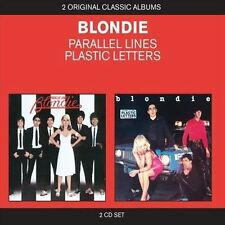 BLONDIE - PARALLEL LINES/PLASTIC LETTERS (NEW CD)