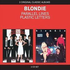 Parallel Lines/Plastic Letters by Blondie (CD, Mar-2011, 2 Discs, EMI)