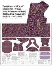Malinda Dalton Doll Sunday Outfit Fabric Panel-Benartex