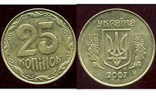 UKRAINE  25 kopiyok 2007  ( bis )