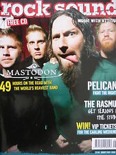ROCK SOUND 75 - MASTODON - HIM - CLUTCH - AMEN