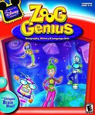 Disney's Zoog Genius: Language Arts, History, Geography [CD-ROM] Mac / Windows