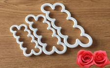 Silicone Rose Flower Fondant Cake Chocolate Sugarcraft Mould Party Decor Tools