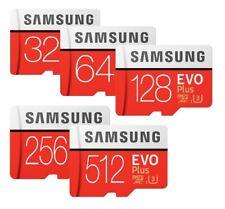 Samsung EVO PLUS 32GB 64GB 128GB 256GB 512GB microSD microSDHC microSDXC SD LOT