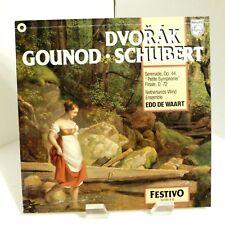1981 Dvorak, Gounod, Schubert Serenade, Minuet De Waart Philips 6570205 Mint LP