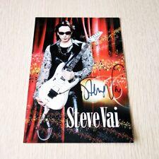 Steve Vai - Promo Photo, Hand Signed