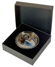British Virgin Islands Titanic Einlauf 2012 42,0 Gramm 2$ 999 Bronze Box & Zerti