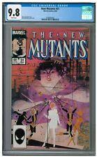 New Mutants #31 (1985) Copper Age Bill Sienkiewicz Cover Marvel CGC 9.8 AA737