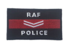 RAF Police embroidered cloth badge - Corporal Iron or sew on patch